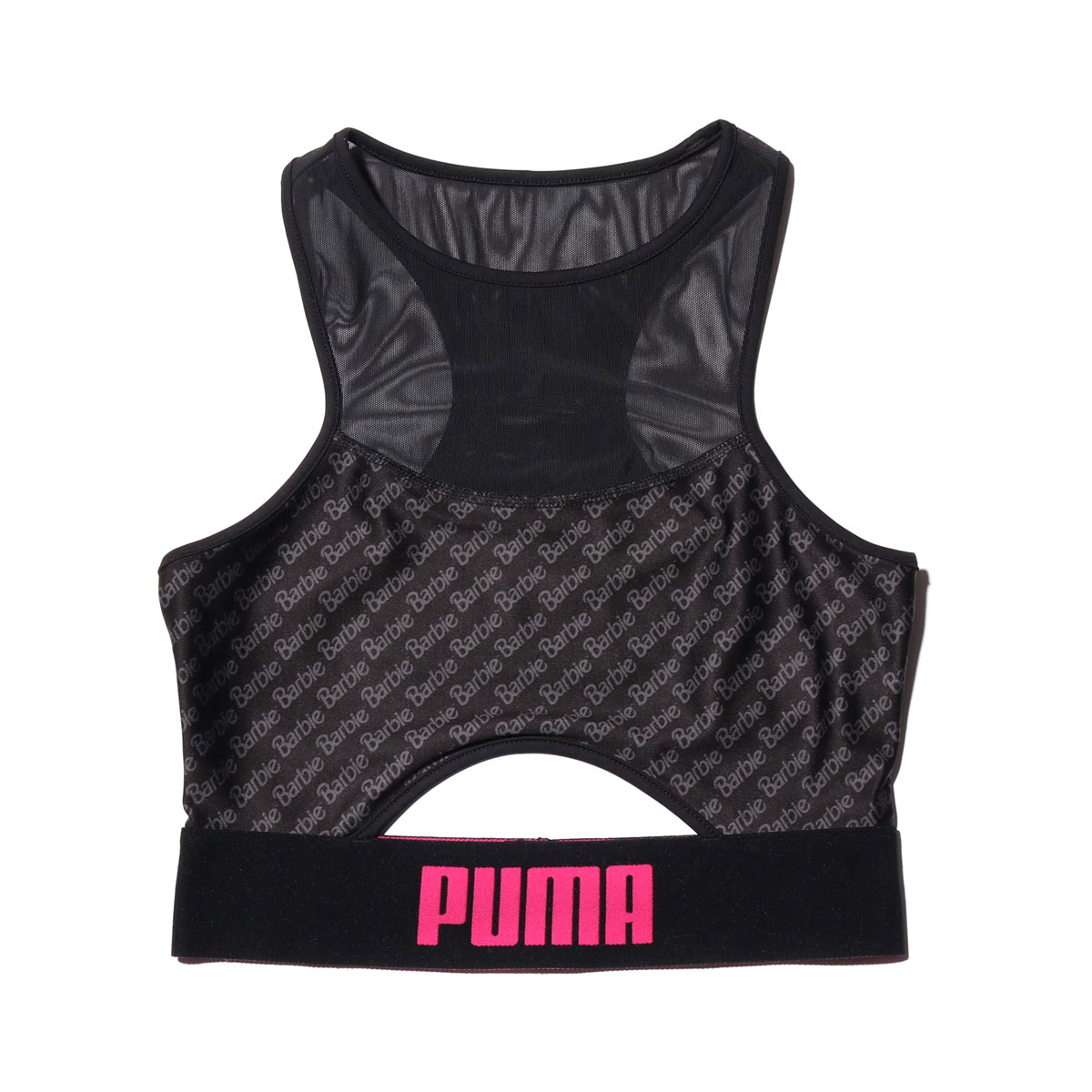 99b69ad14b6 Kinetics: PUMA X BARBIE CROPTOP (the Puma X Barbie crop top) (BLACK ...