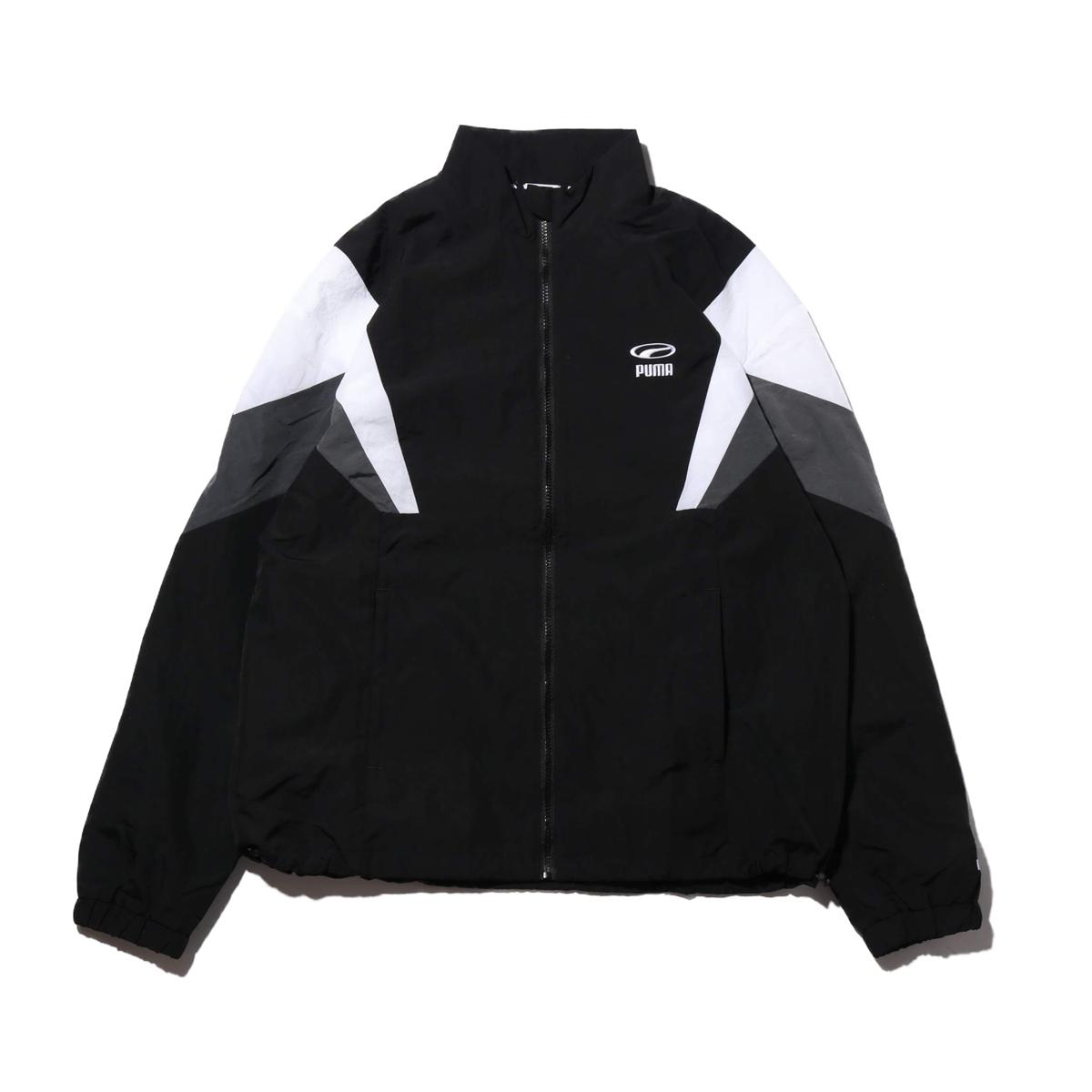 9846ce91e976 PUMA 90S RETRO WOVEN JACKET (PUMA BLACK) (Puma 90S nostalgic Woo a jacket)