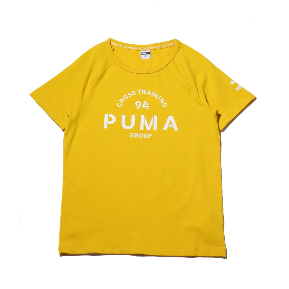 8f63030dba PUMA XTG GRAPHIC SS TEE (SULPHUR) (Puma XTG graphic short sleeve T-shirt)