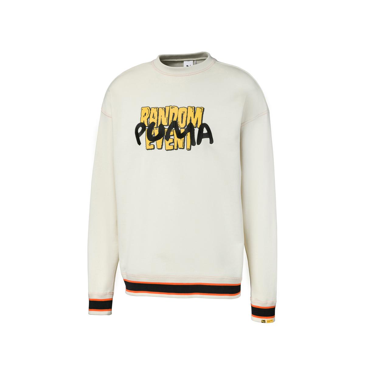 PUMA x RDET Graphic Crew(WHITE ASPARAG)(プーマ X RDET グラフィック クルー)【メンズ】【長袖Tシャツ】【20SP-I】