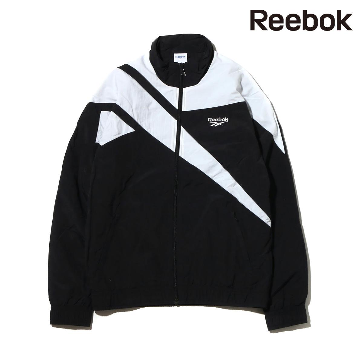 Reebok LF VECTOR TRACKTOP(BLACK/WHITE)(リーボック ロスト&ファウンド ベクター トラックトップ )【メンズ】【ジャケット】【18SS-S】