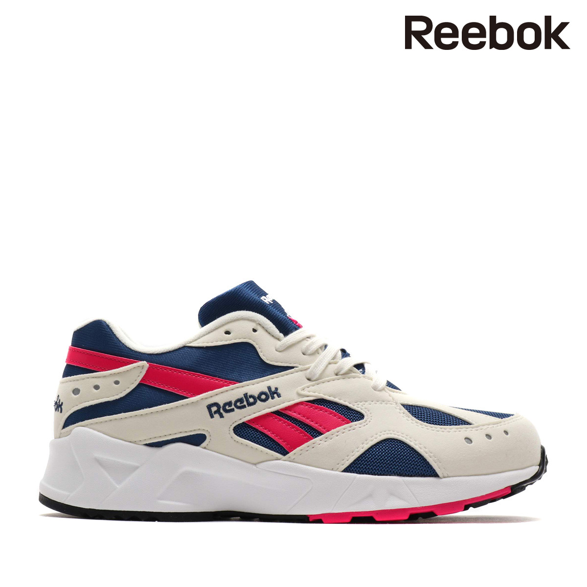 Reebok AZTREK OG (CHALK COLLEGE ROYAL BRIGHT LIGHT ROSE WHITE) (Reebok as  trek OG) 8e3237e39