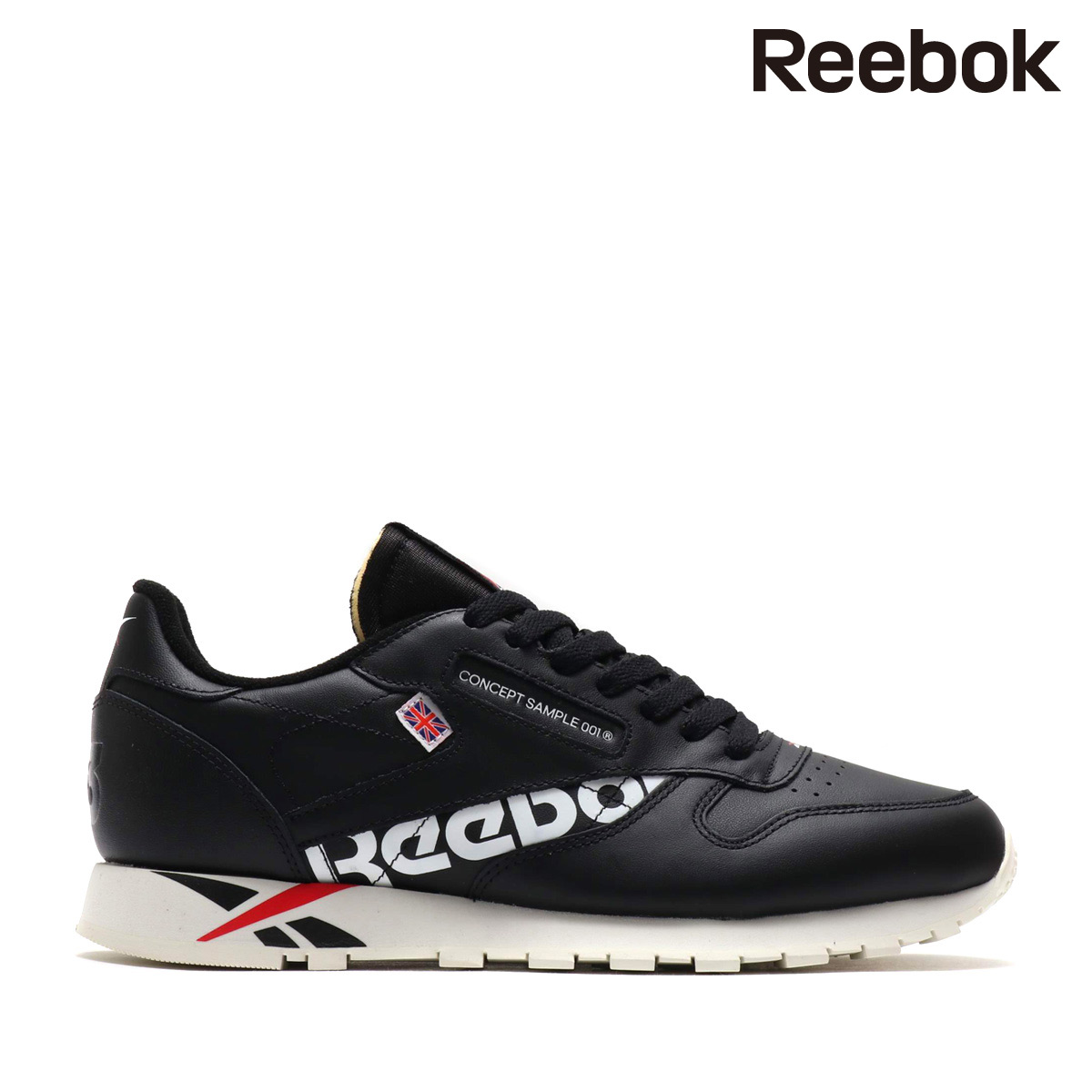 ad59250b1d Reebok CL LEATHER ATIV (BLACK/WHITE/EXCELLENT RED/CHALK) (Reebok classical  music leather ATIV)