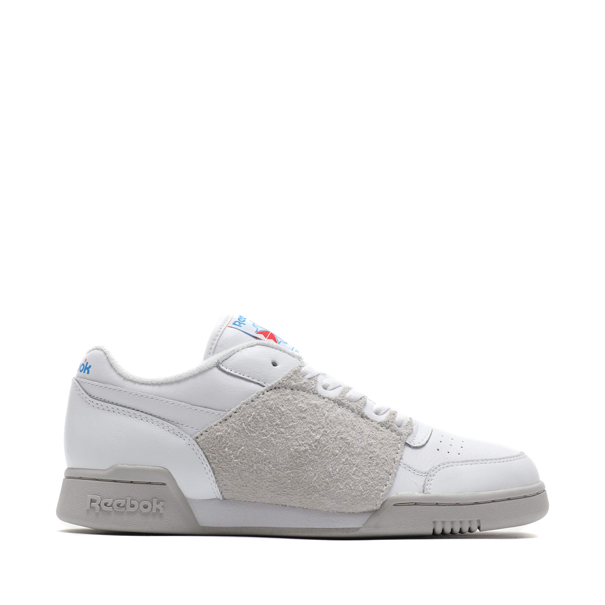 3dae381850e Reebok WORKOUT PLUS NEPENTHES (WHT STEEL BLUE) (Reebok practice game plus  nepenthe)