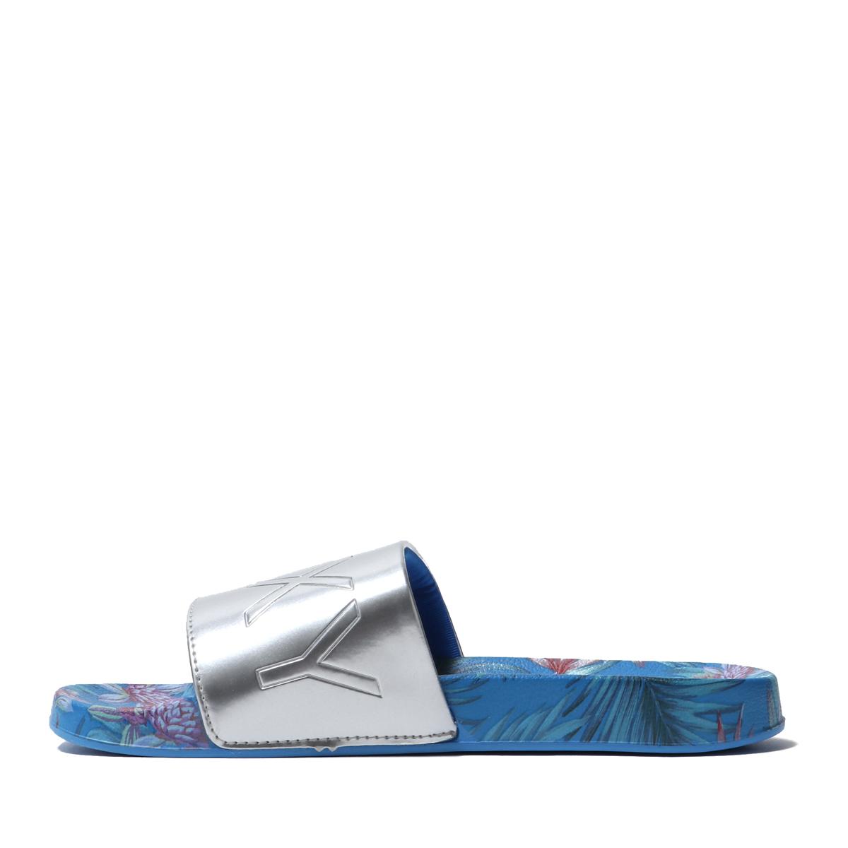 ROXY SLIPPY PRINTED(BLUE)(ロキシー スリッピー プリンテッド)【レディース】【サンダル】【19SS-I】