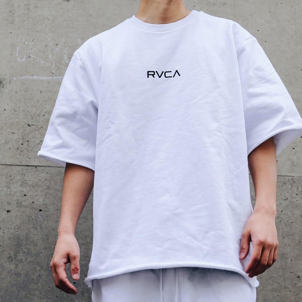RVCA SMALL RVCA CREW SS(WHITE)(ルーカ スモール ルーカ ショートスリーブ クルー)【メンズ】【Tシャツ】【19SP-I】