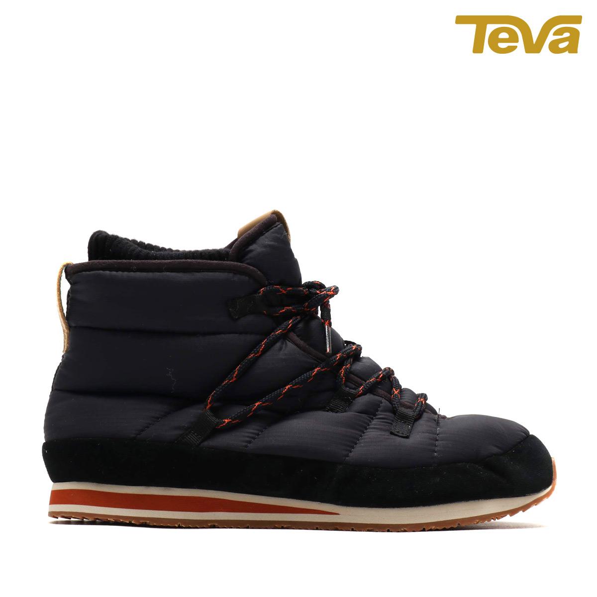TEVA Ember Lace(BLACK)(テバ エンバー レース)【メンズ】【スニーカー】【18FW-I】