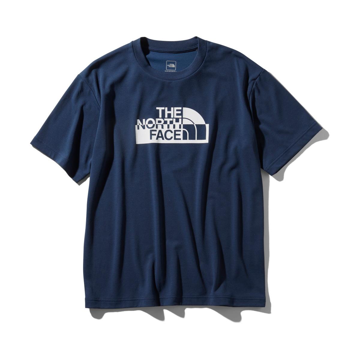 THE NORTH FACE S/S WATERSIDE GRAPHIC TEE(コズミックブルー)(ザ・ノース・フェイス ショートスリーブ ウォーターサイド グラフィック ティー)【メンズ】【Tシャツ】【19SS-I】