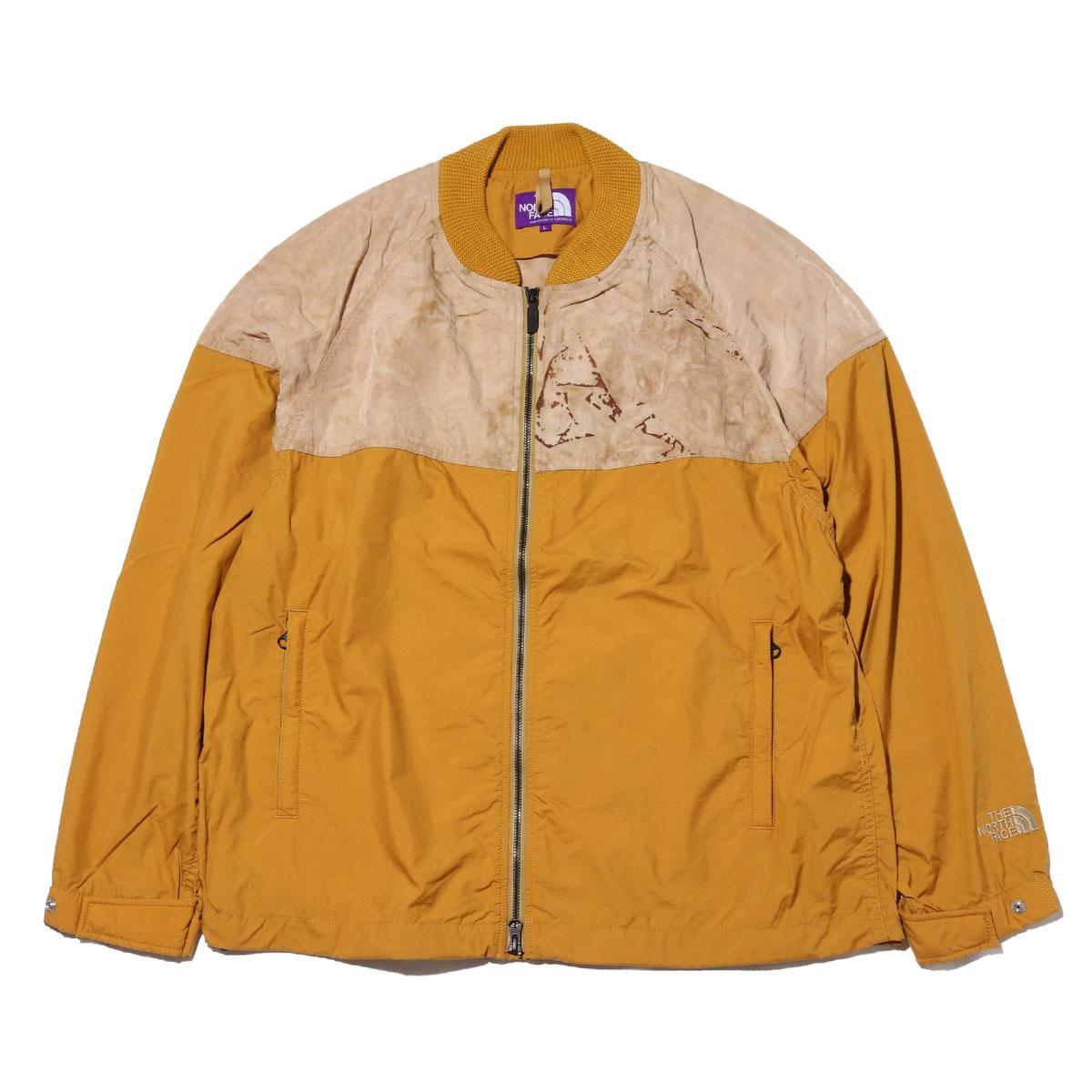 THE NORTH FACE PURPLE LABEL Mountain Field Jacket(MUSTARD)(ザ・ノース・フェイス パープルレーベル マウンテンフィルドジャケット)【メンズ】【ジャケット】【20SS-I】