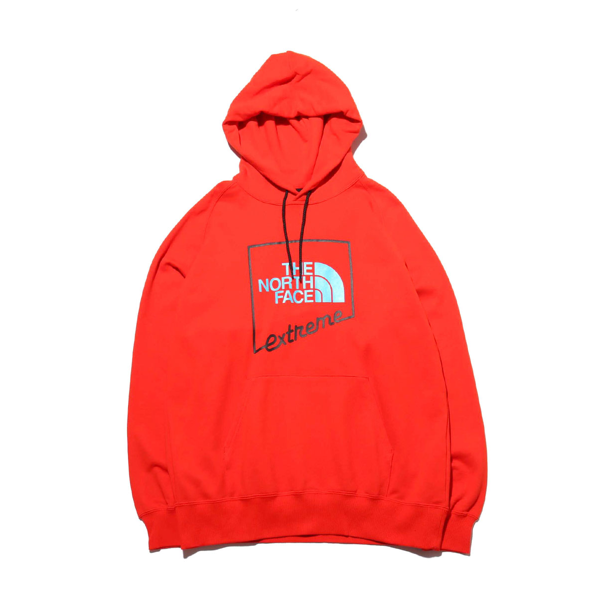 THE NORTH FACE EXTREME HOODIE(FIERY RED)(ザ・ノース・フェイス エクストリーム フーディー)【メンズ】【パーカー】【20SS-I】