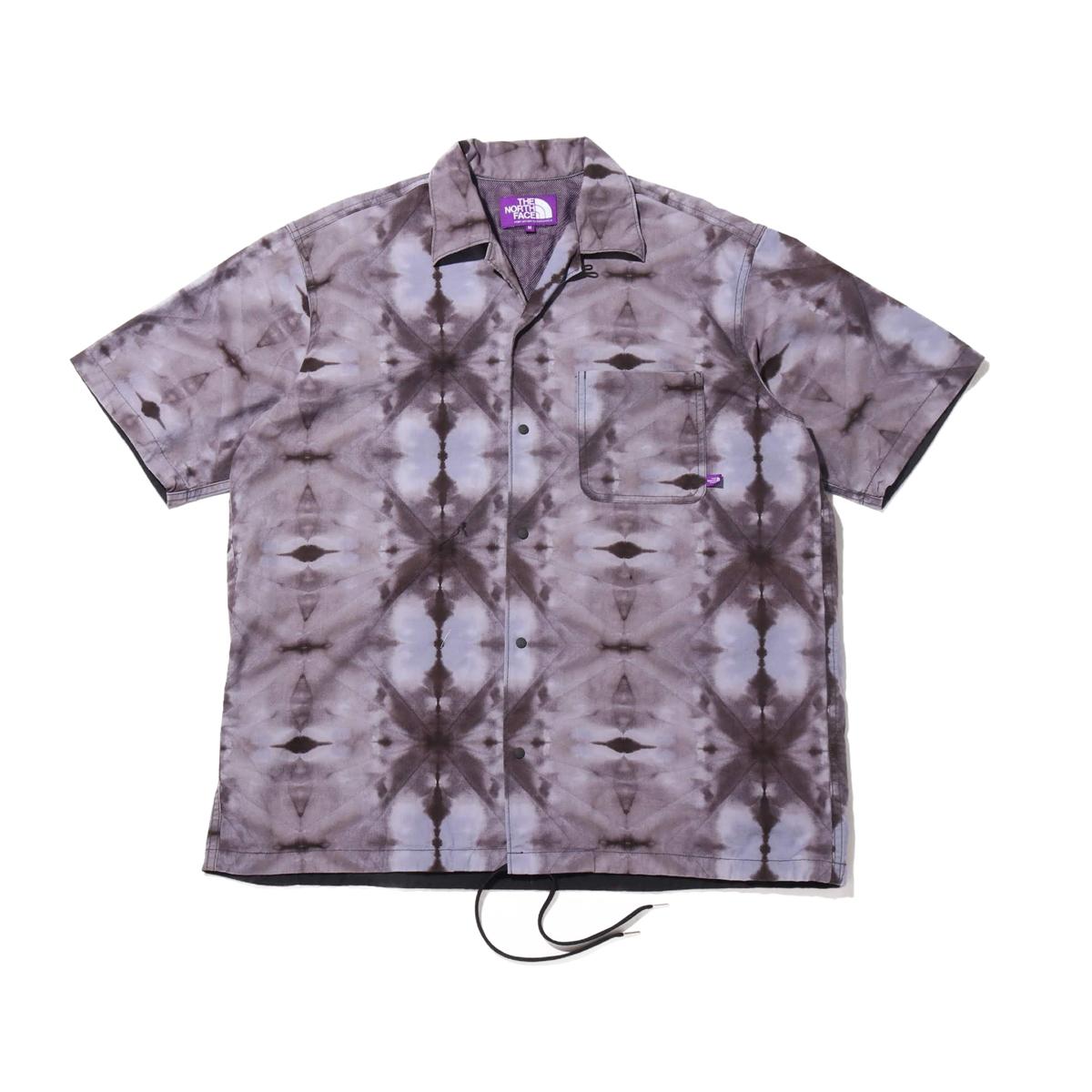 THE NORTH FACE PURPLE LABEL Tie Dye Print H/S Shirt(PURPLE)(ザ・ノース・フェイス パープルレーベル タイダイプリントハーフスリーブシャツ)【メンズ】【半袖シャツ】【20SS-I】