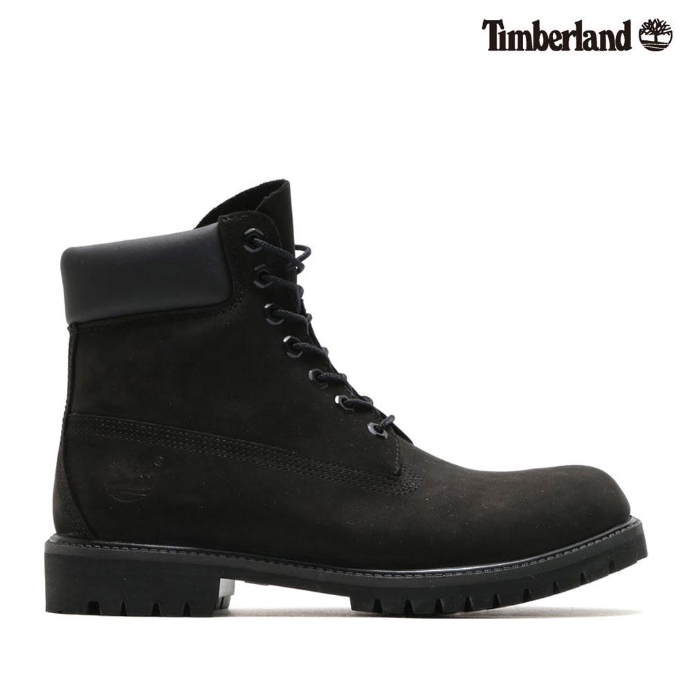 Timberland Icon 6inch Premium Boot (Black Nubuck) (ティンバーランド アイコン 6インチ プレミアム ブーツ) 【Kinetics】【メンズ】【Waterproof】【CRYOVR】【19FW-I】