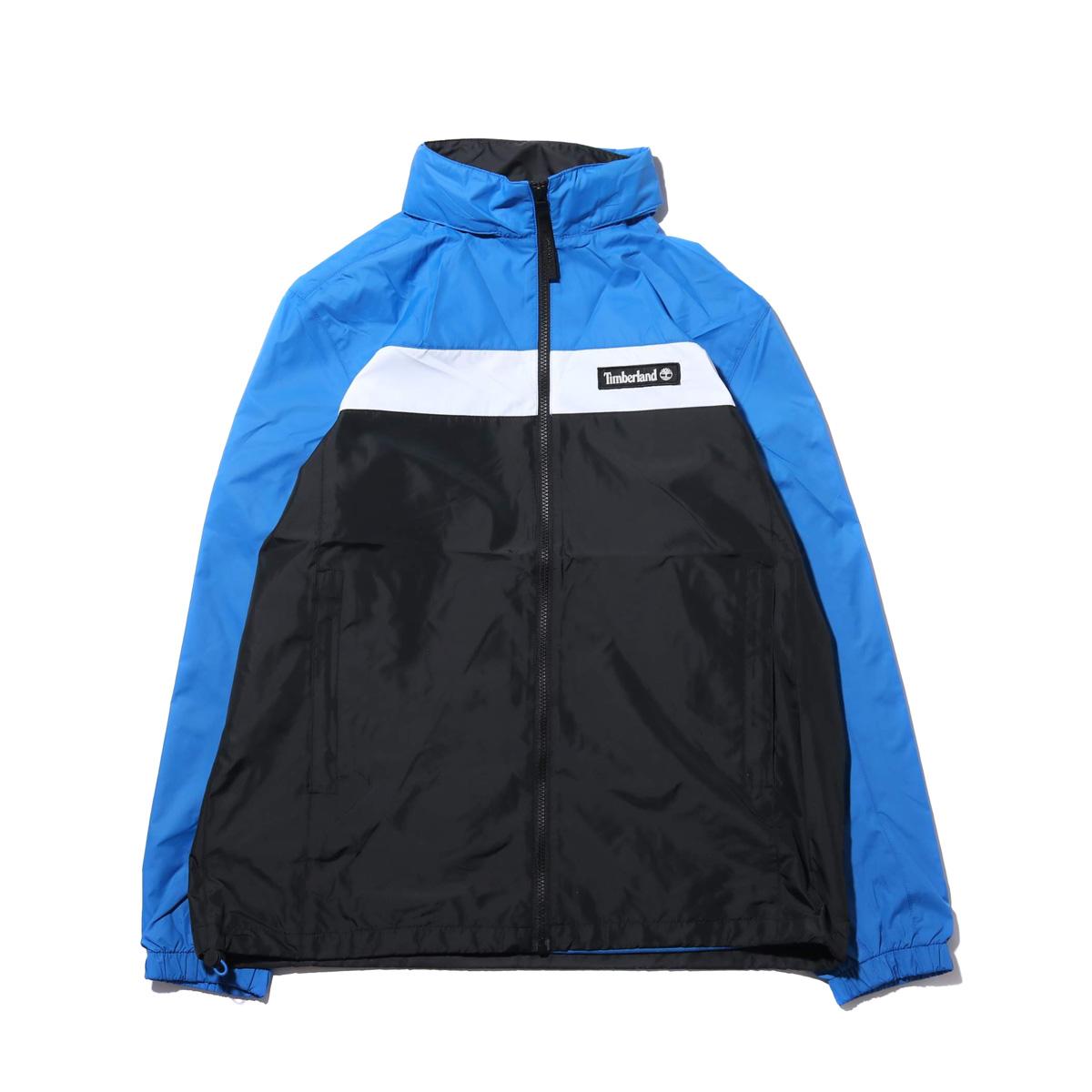 Timberland YCC Hooded full zip jacket(STRONG BLUE/BLACK)(ティンバーランド YCC フーデッド フルジップ ジャケット)【メンズ】【ジャケット】【19SS-I】