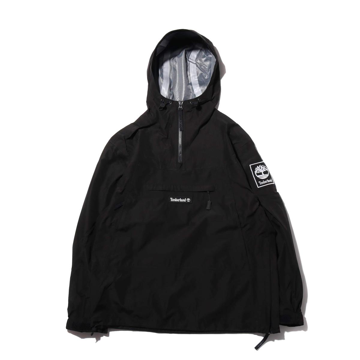 Timberland YCC Waterproof pullover(BLACK)(ティンバーランド YCC ウォータープルーフ プルオーバー)【メンズ】【ジャケット】【19SS-I】