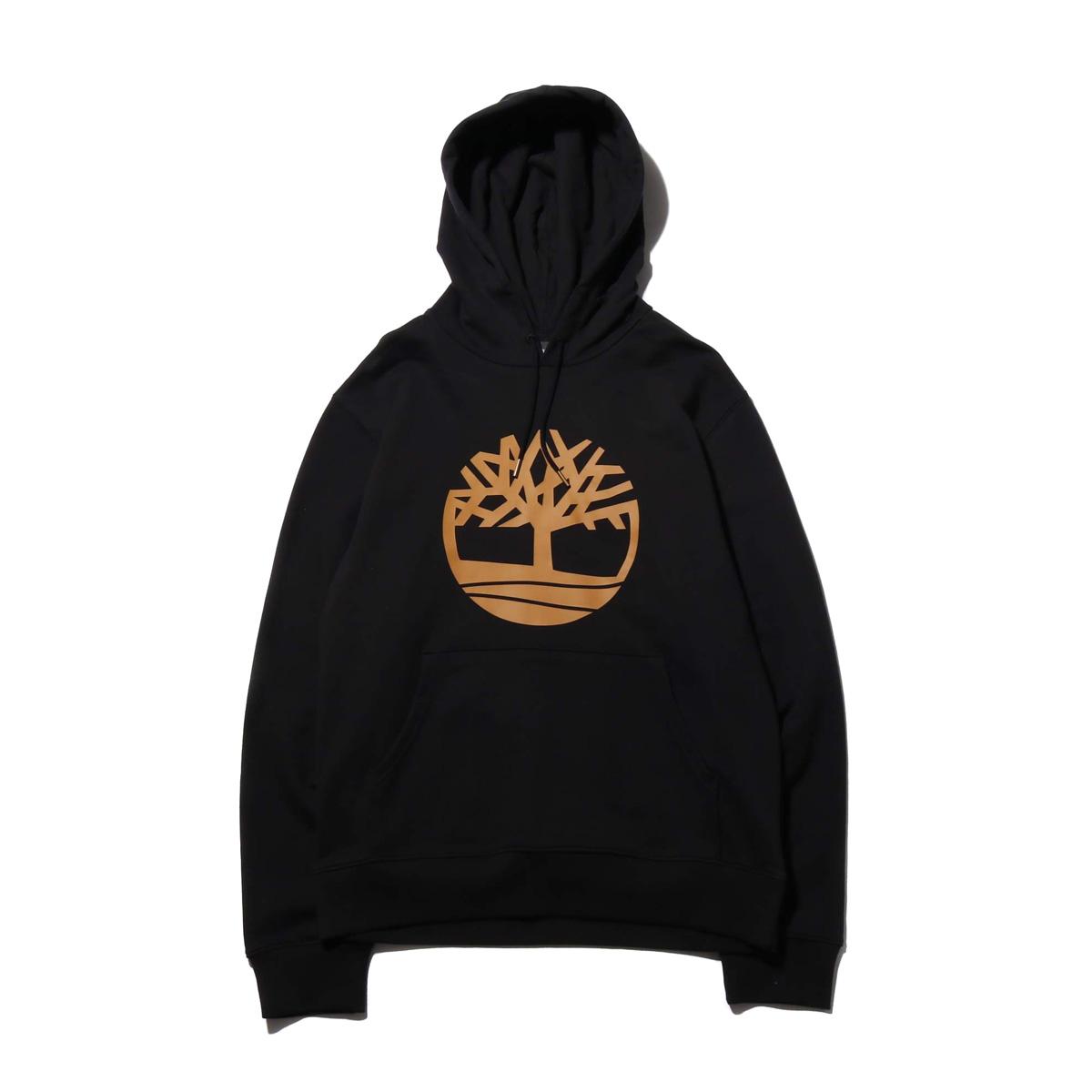 Timberland YCC CORE SWEAT(BLACK TREE)(ティンバーランド YCC コアスウェット)【メンズ】【パーカー】【19SS-I】