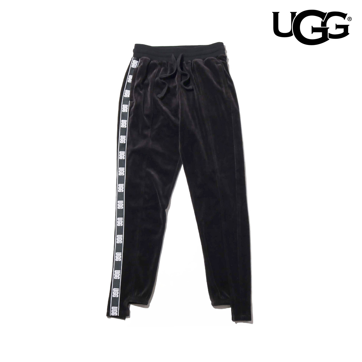 UGG Iris Track Pant(BLACK)(アグ アイリス トラック パンツ)【レディース】【パンツ】【18FW-I】