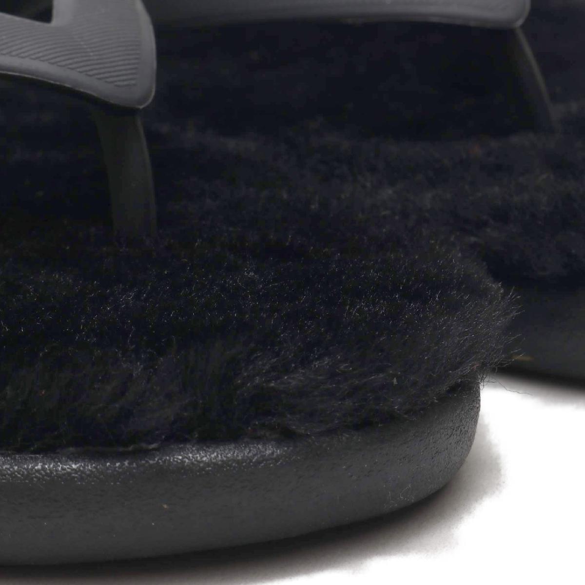 UGG Fluffie II(BLACK)(アグ フラッフィー 2)【レディース】【サンダル】【19SS-I】