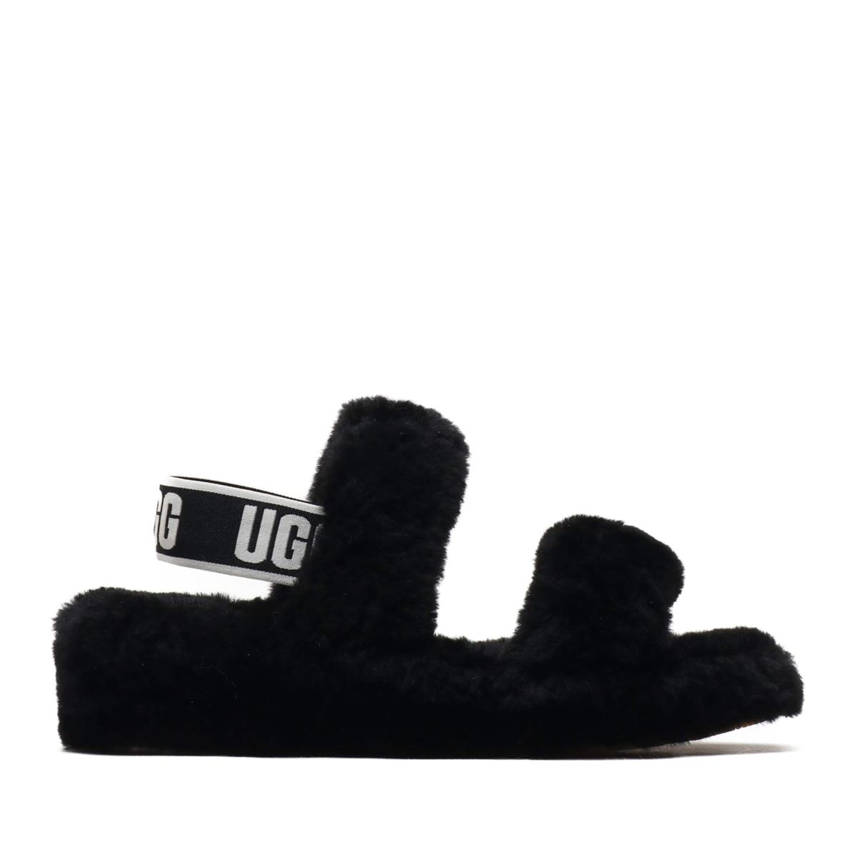 UGG Oh Yeah(BLACK)(アグ オーヤー)【レディース】【サンダル】【20SS-I】