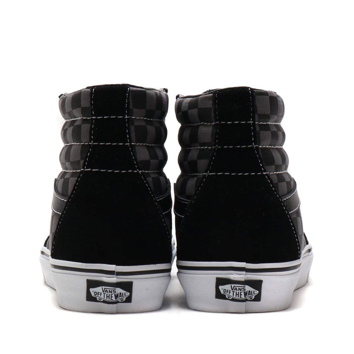 Kinetics  VANS SK8-HI (BLACK PEWTER CHECKERBOARD) (station wagons ... 844b49d2e