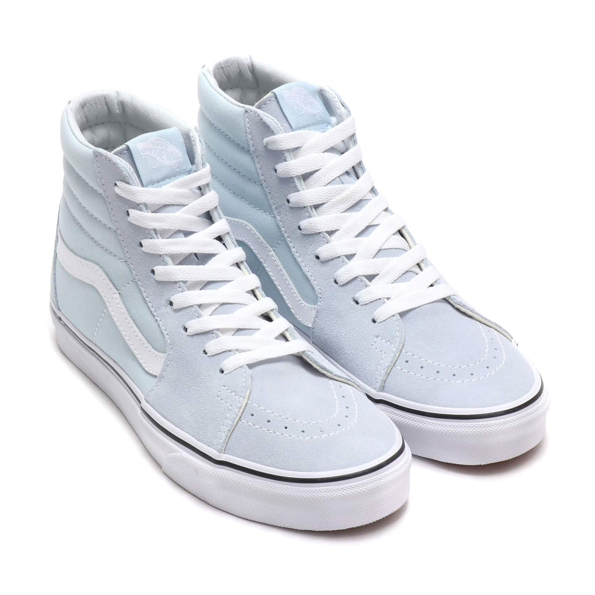 efc6196754b1 Kinetics  VANS SK8-HI (BABY BLUE TRUE WHITE) (station wagons skating ...