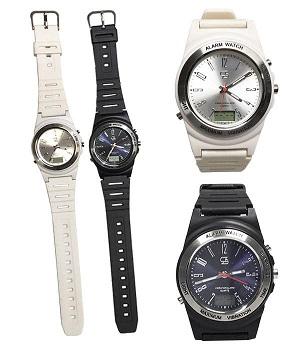 在庫あり!!【メール便】強力振動目覚まし時計 NEW Wake V(ウェイク ブイ) ホワイト・WV-0606 腕時計