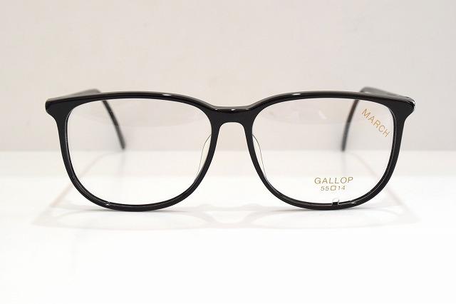 ENA(エナ)GALLOP ギャロップ col.ブラックヴィンテージメガネフレーム新品めがね眼鏡サングラスセルロイド黒ぶち