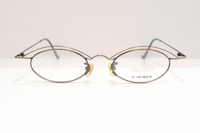 Rimrock(リムロック)550 col.2ヴィンテージメガネフレーム新品めがね眼鏡サングラスメンズレディースブランド