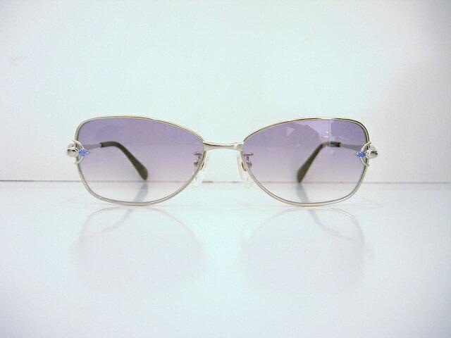 CRESCENT VERT(クレサンベール)CV-505 col.02メガネフレーム新品再結晶めがね眼鏡宝石サングラス日本製ブランド