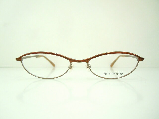 Zip+homme(ジップオム)Z-0209 col.52-LEDメガネフレーム新品めがね眼鏡サングラスべっ甲柄ヴィンテージブランド鯖江