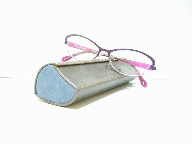 OnimeganeオニメガネOG-7201メガネフレーム新品鯖江眼鏡職人手作りめがねサングラスチタンレディース女性用婦人用