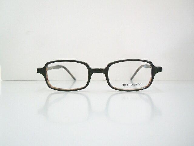 Zip+hommeジップオムZ-0061メガネフレーム新品眼鏡クラシックヴィンテージめがね