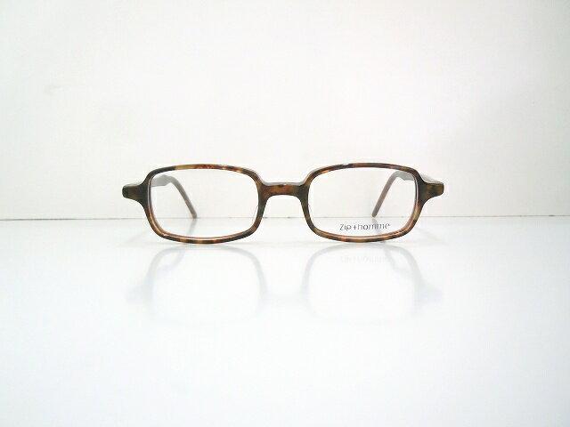 Zip+hommeジップオムZ-0061 メガネフレーム新品べっ甲柄ヴィンテージ眼鏡めがねクラシック