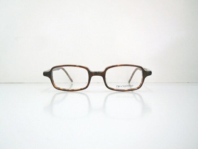 Zip+hommeジップオムZ-0061メガネフレーム新品べっ甲柄眼鏡ヴィンテージクラシックめがね