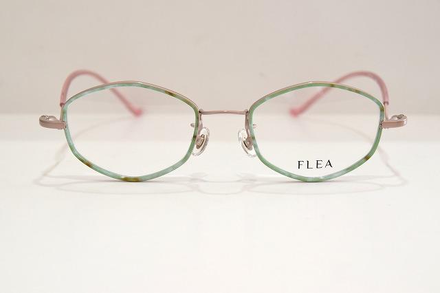 FLEA(フリー)F-877 col.3-Wメガネフレーム新品めがね眼鏡サングラス増永マスナガ日本製可愛いメンズレディース