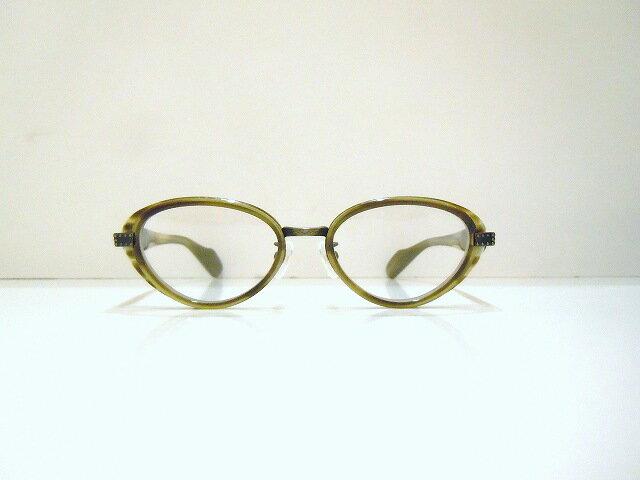 DRASTIC CRAZY(ドラスティック・クレイジー)G-3X col.03メガネフレーム新品風防めがね眼鏡ボストン型彫金