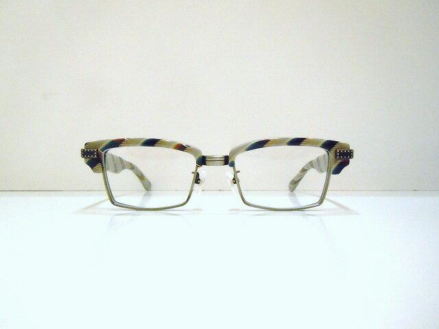 DRASTIC CRAZY(ドラスティック・クレイジー)G-2X col.07Sメガネフレーム新品ブロー限定めがね眼鏡蜘蛛の巣