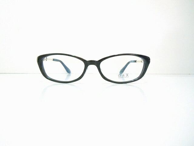 O&X NEWYORK OP-J30 col.01メガネフレーム新品めがね眼鏡鯖江黒ぶちPC