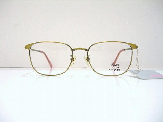 Rosana ロッサーナ (R5-5104 col.2A)ヴィンテージメガネフレームのデッドストック新品めがね眼鏡クラシックBADAバダ