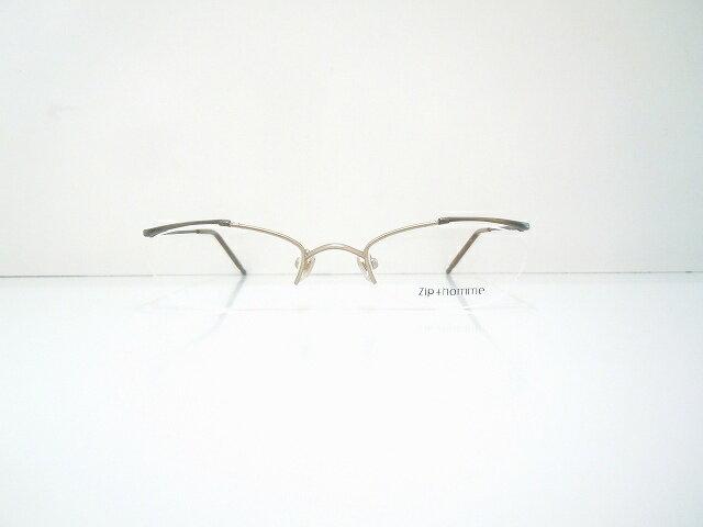 Zip+homme(ジップオム)Z-0184 メガネフレーム新品ちょい悪めがね眼鏡サングラス