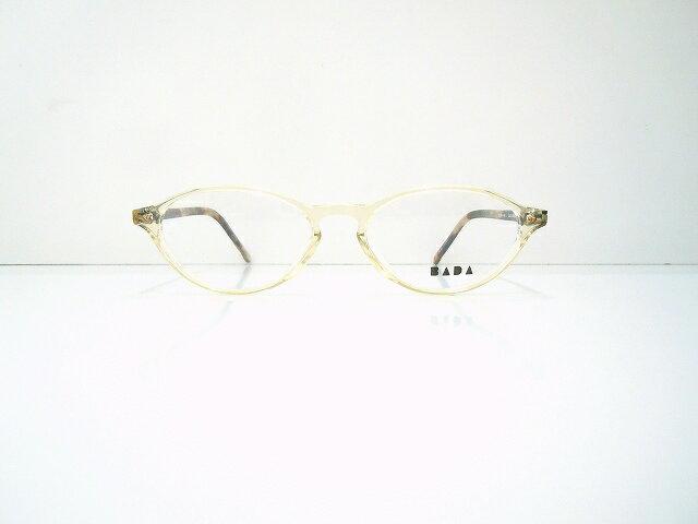 BADA(バダ)BL-1264 col.3143ヴィンテージメガネフレーム新品クラシックめがね眼鏡セルロイド
