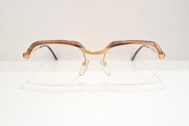 ESSEL HOYA(エッセルホヤ)18 GPヴィンテージメガネフレーム新品めがね眼鏡サングラスブロークラシックメンズレディース