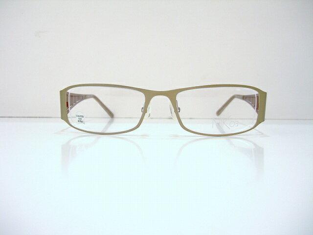 Nik 03(ニックゼロスリー)NK439 メガネフレーム新品イタリア製めがね眼鏡サングラスインポート