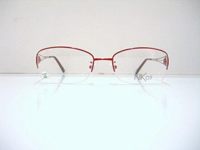 Nik 03(ニックゼロスリー)NK618 メガネフレーム新品めがね眼鏡デコレーションイタリア製