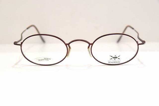 逆輸入 BEAUSOLEIL(ボーソレイユ)MAYA 5 CASヴィンテージメガネフレーム新品めがね眼鏡サングラスメンズレディースクラシック, Julie Fain Art e67b6394