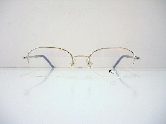 Kaz(カズ)K-022 メガネフレーム新品 めがね 眼鏡 遠近両用 サングラス 鯖江 日本製