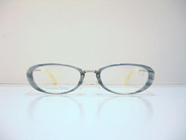 Outermost Design(アウターモーストデザイン)style-008 メガネフレーム新品 めがね 眼鏡 手作り 職人 クローバー Clover