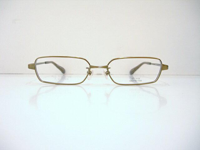 VORTEX(ヴォルテックス)VT-115 メガネフレーム新品 めがね眼鏡 近視サングラス 鯖江 日本製 老眼鏡 強度用