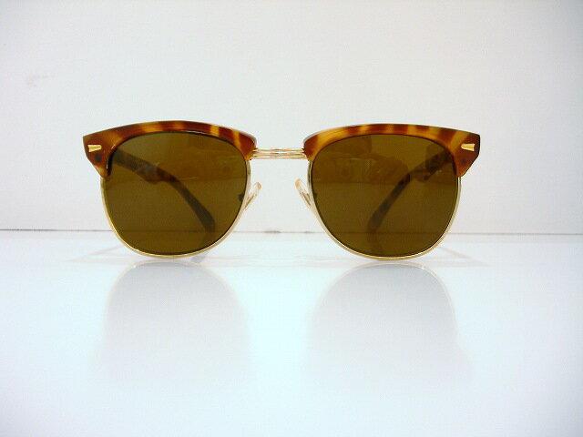 retro collection(レトロコレクション)RC-034 ヴィンテージサングラス新品 めがね 眼鏡 メガネフレーム ヴィンテージ ブロー べっ甲柄