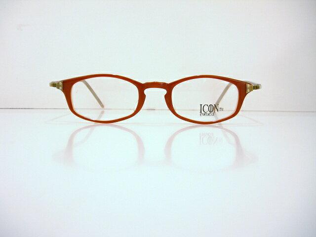 ICON IC-112 ヴィンテージメガネフレーム新品 めがね 眼鏡 サングラス 彫金 クラシック