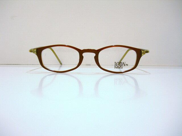 ICONIC 112col 3 ヴィンテージメガネフレーム新品 めがね 眼鏡 サングラス クラシック 彫金oerCWdxB